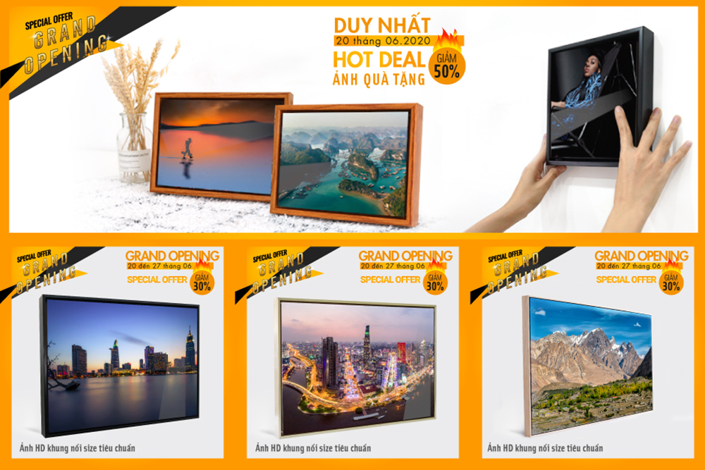 GRAND OPENING - SPECIAL OFFER - HOTDEAL 50 - DUY NHẤT 20.6.2020